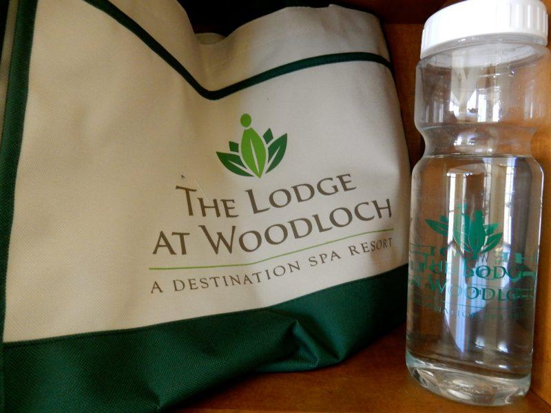 Tote and Waterbottle, Lodge at Woodloch PA @GetawayMavens
