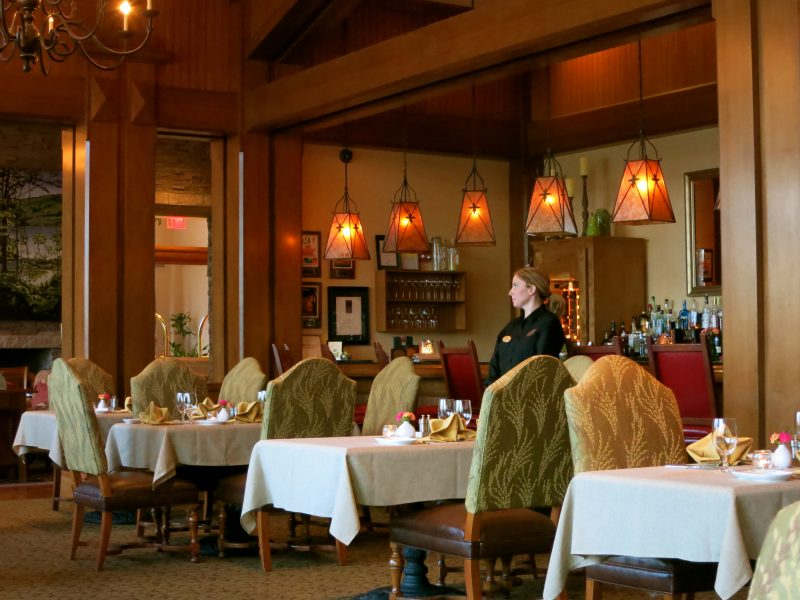 Tree Restaurant, Lodge at Woodloch PA