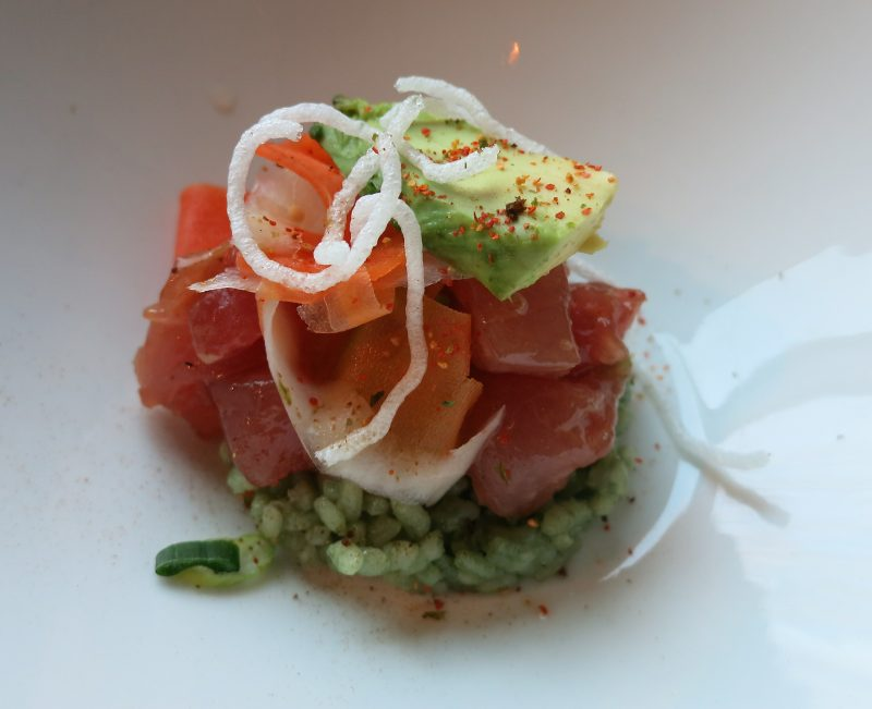 Tuna Tartar, Tree Restaurant, Lodge at Woodloch
