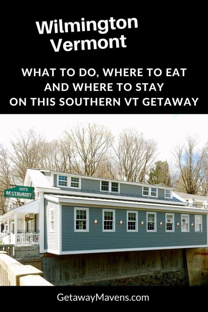 Wilmington VT Pin