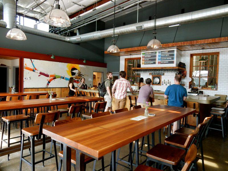 Zero Gravity Craft Brewery, Burlington VT