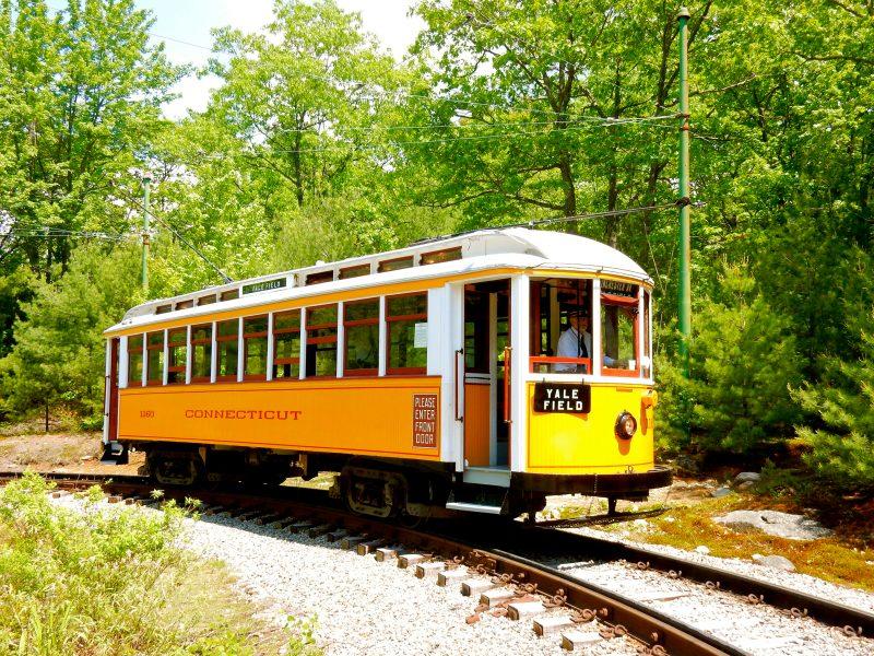 1906 New Haven Trolley, Seashore Trolley Museum, Kennebunkport ME