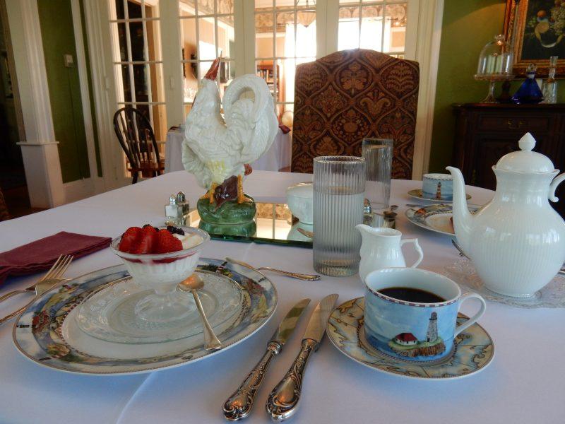 Breakfast, AV Nickels Inn, Searsport ME