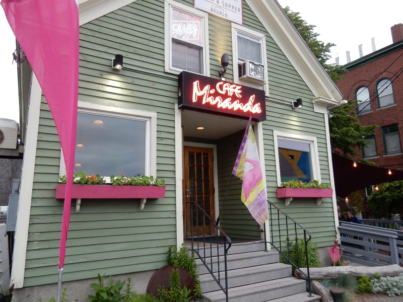 Cafe Miranda, Rockland ME
