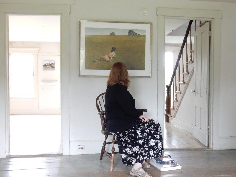 Christina's World, Wyeth, Olson House, Maine