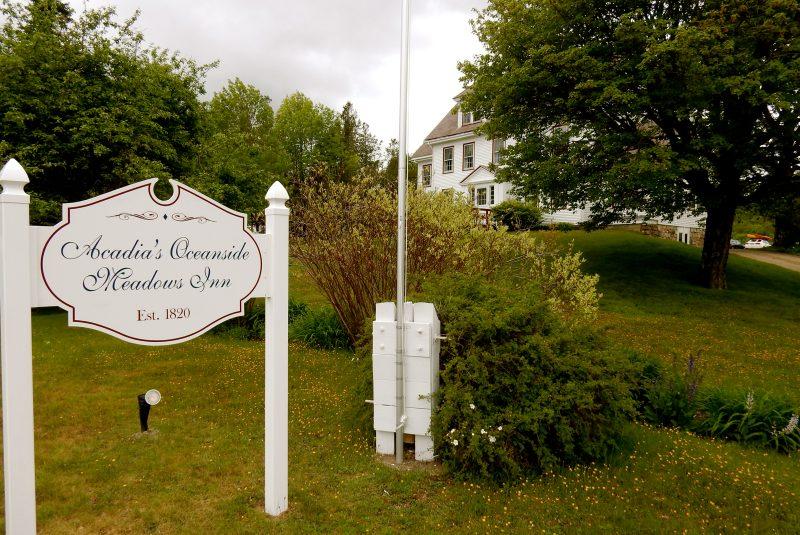 Exterior, Acadia's Oceanside Meadows Inn, Prospect Harbor ME