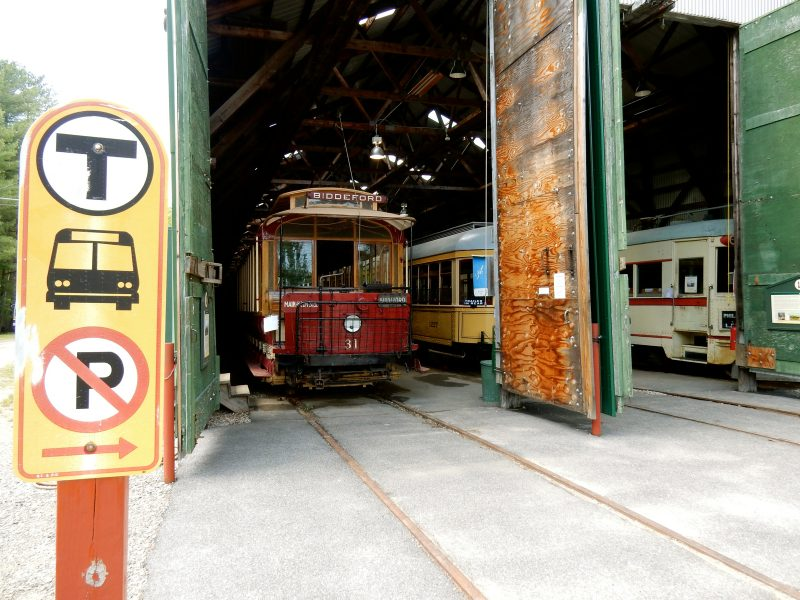 First Trolley purchased for Seashore Trolley Museum, Kennebunkport ME