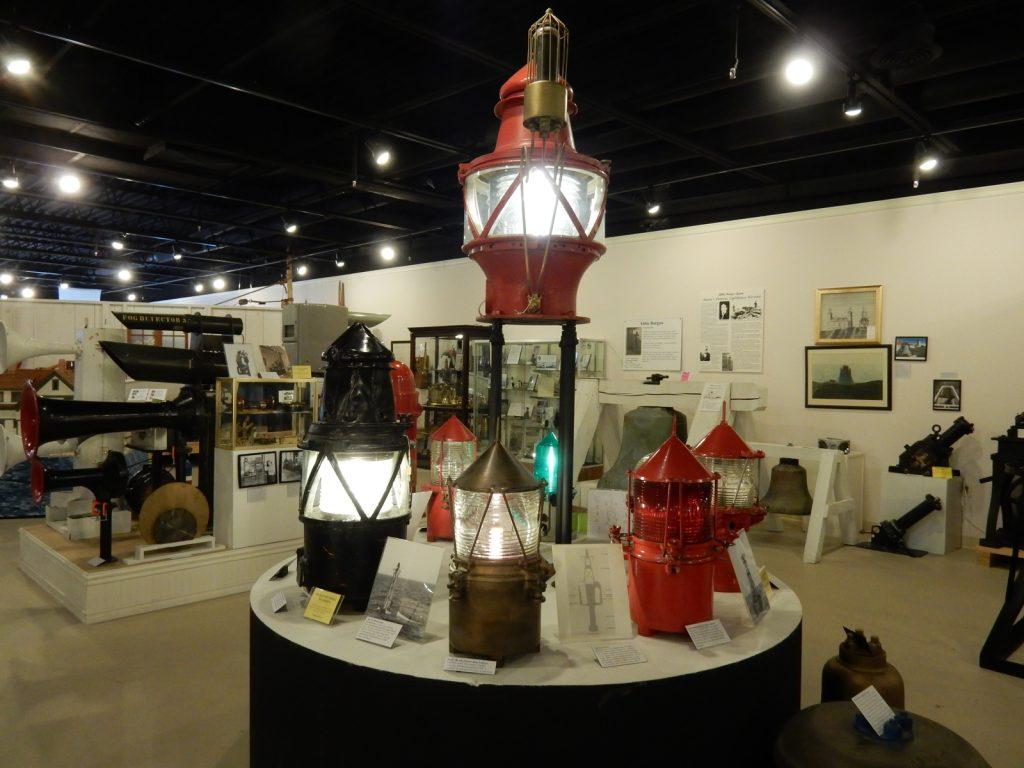 Fresnel Lenses, Lighthouse Museum, Rockland ME