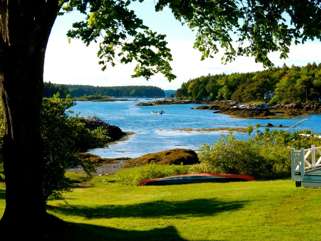 Maine Harbor from Golf Course