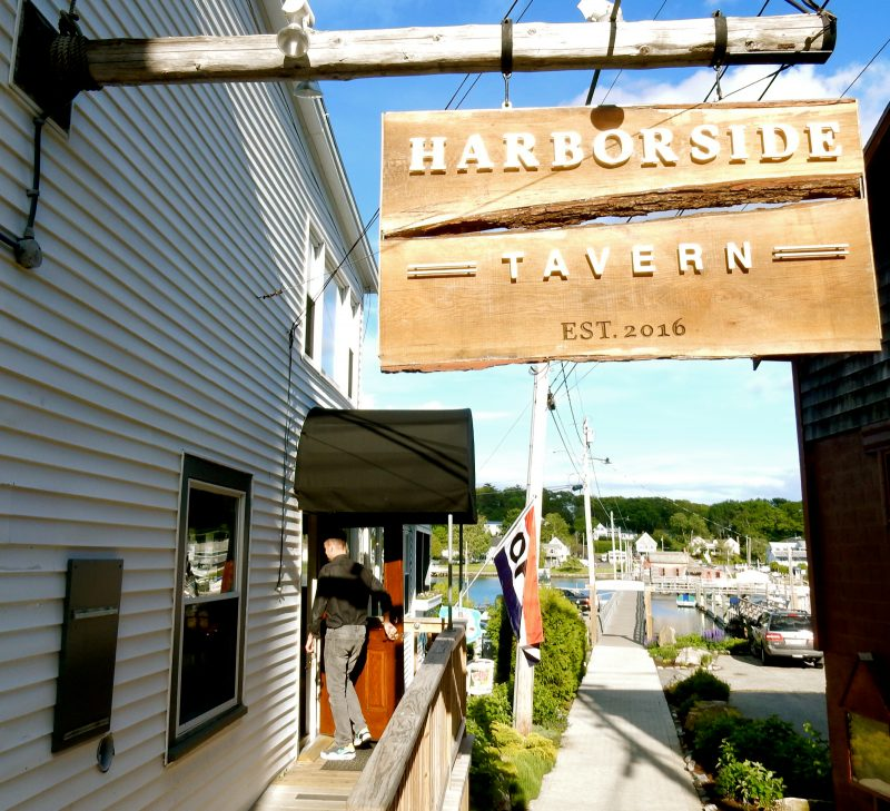 Harborside Tavern, Boothbay Harbor ME