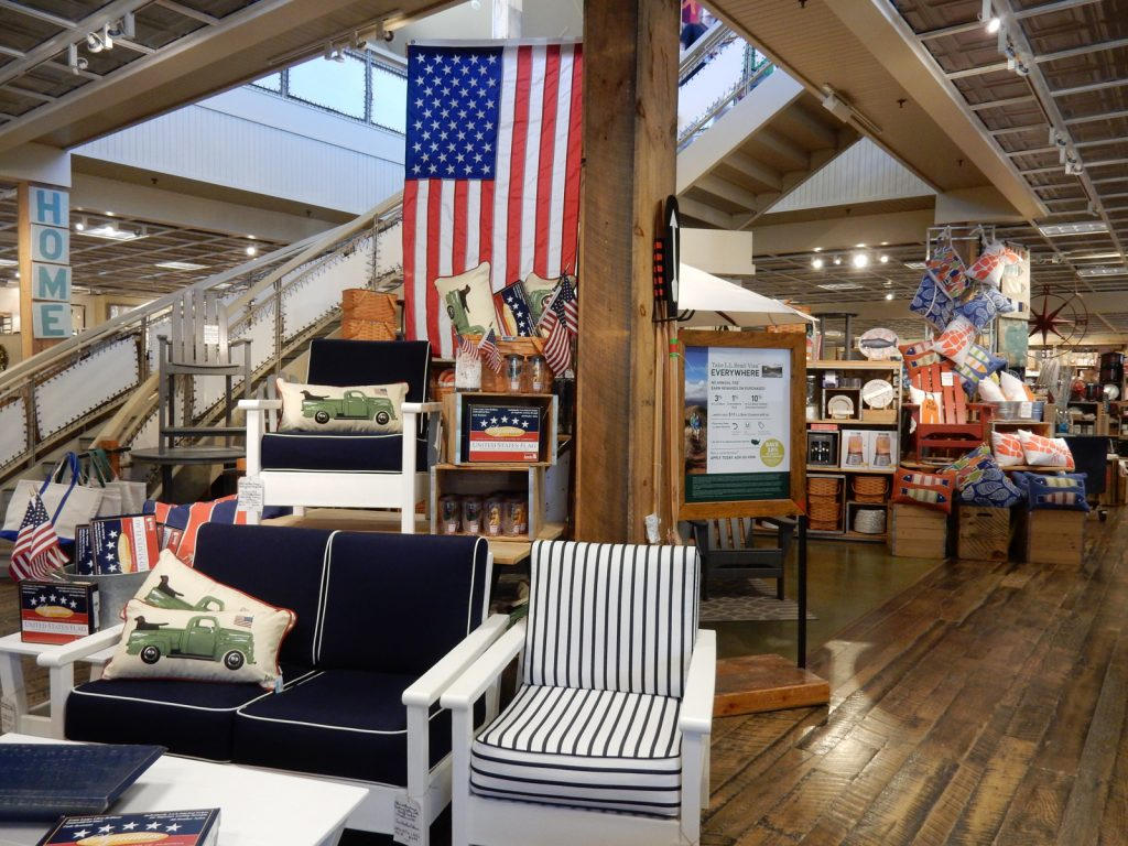 Interior, L.L. Bean, Freeport ME