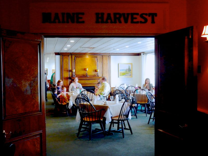 Maine Harvest, Harraseeket Inn, Freeport ME