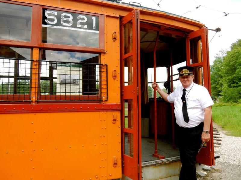 Mike Curry, Volunteer, Seashore Trolley Museum, Kennebunk ME