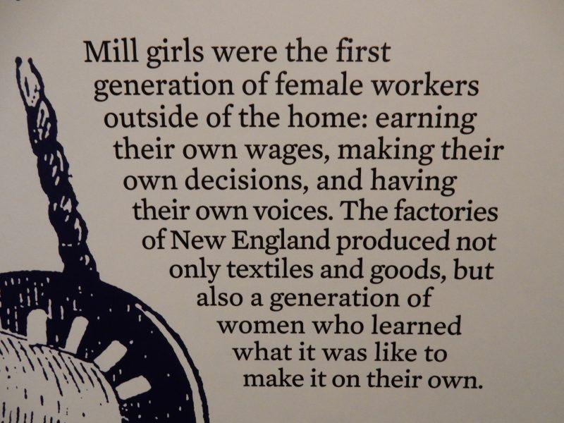 Mill Girls, Saco Museum, ME