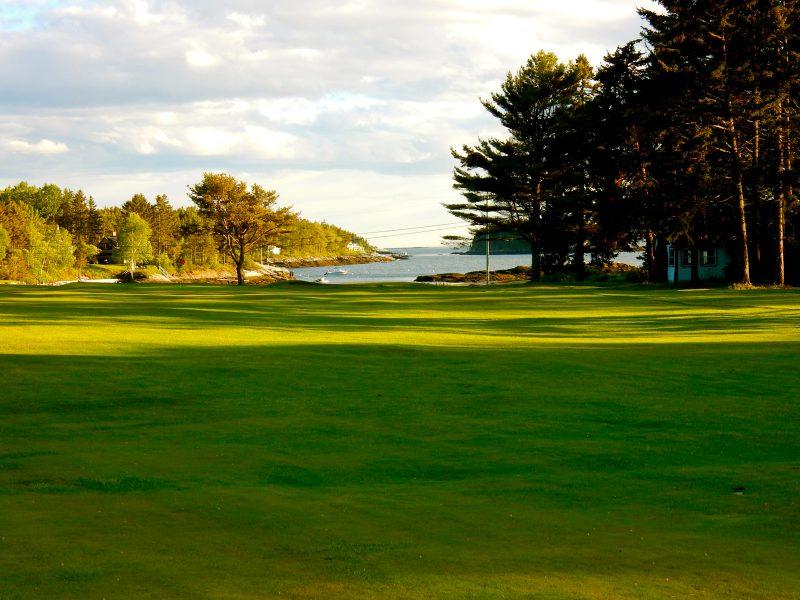 Ocean view from Golf Course, Sebasco Harbor Resort, ME