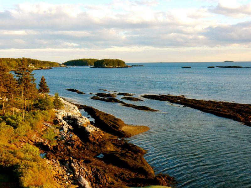 Ocean view from Lighthouse, Sebasco Harbor Resort ME
