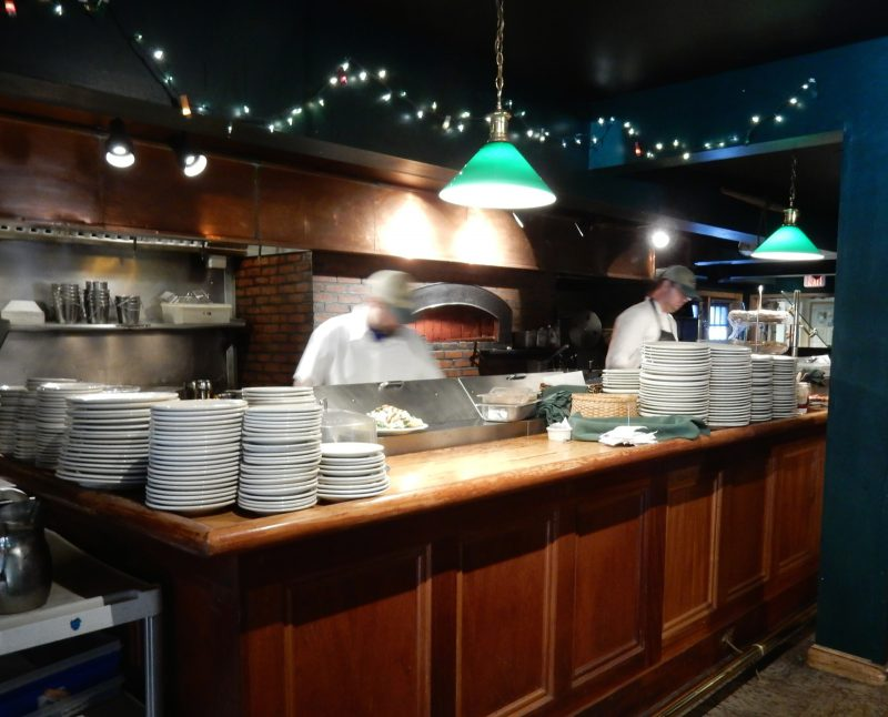 Open Kitchen, Broad Arrow Tavern, Harraseeket Inn