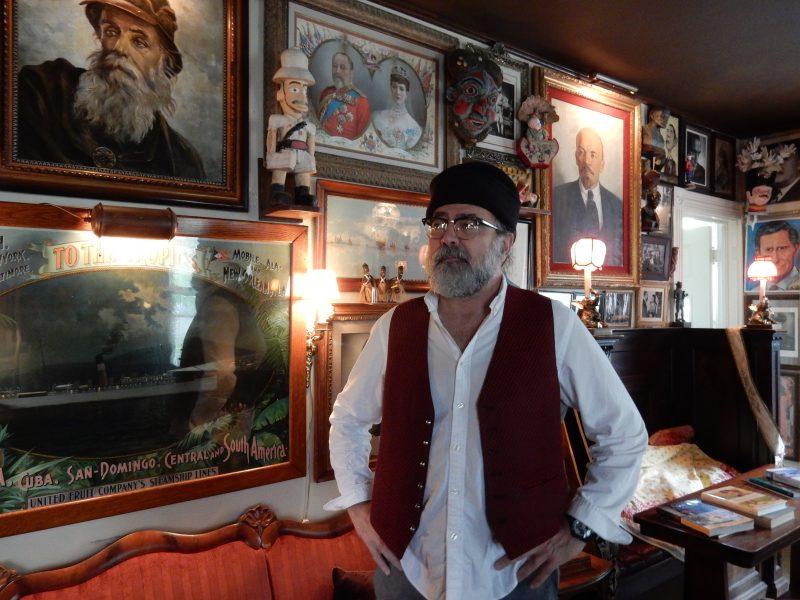 Owner Jack Burke, Pentagoet Inn, Castine ME