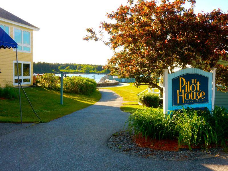 Pilot House Restaurant Exterior, Sebasco Harbor Resort, ME