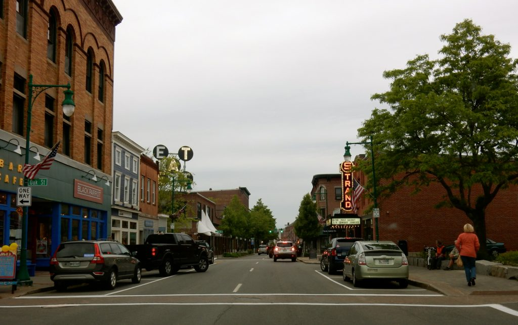 Rockland Maine downtown