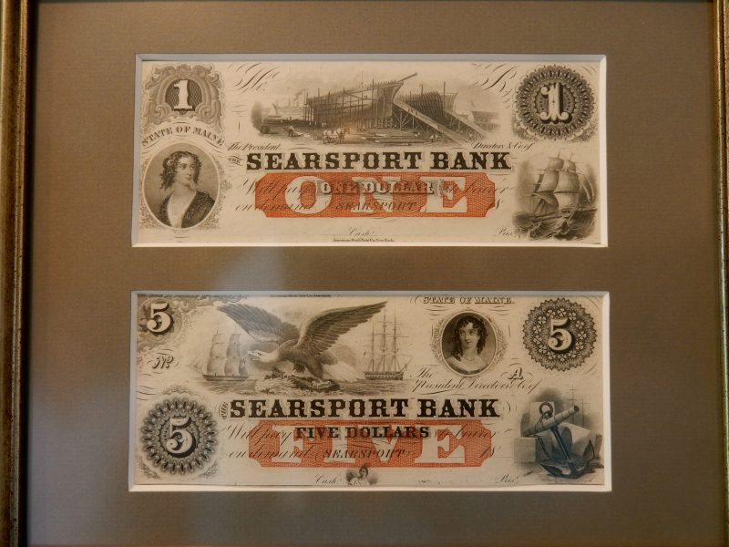Searsport Bank Note, Penobscot Marine Museum, ME