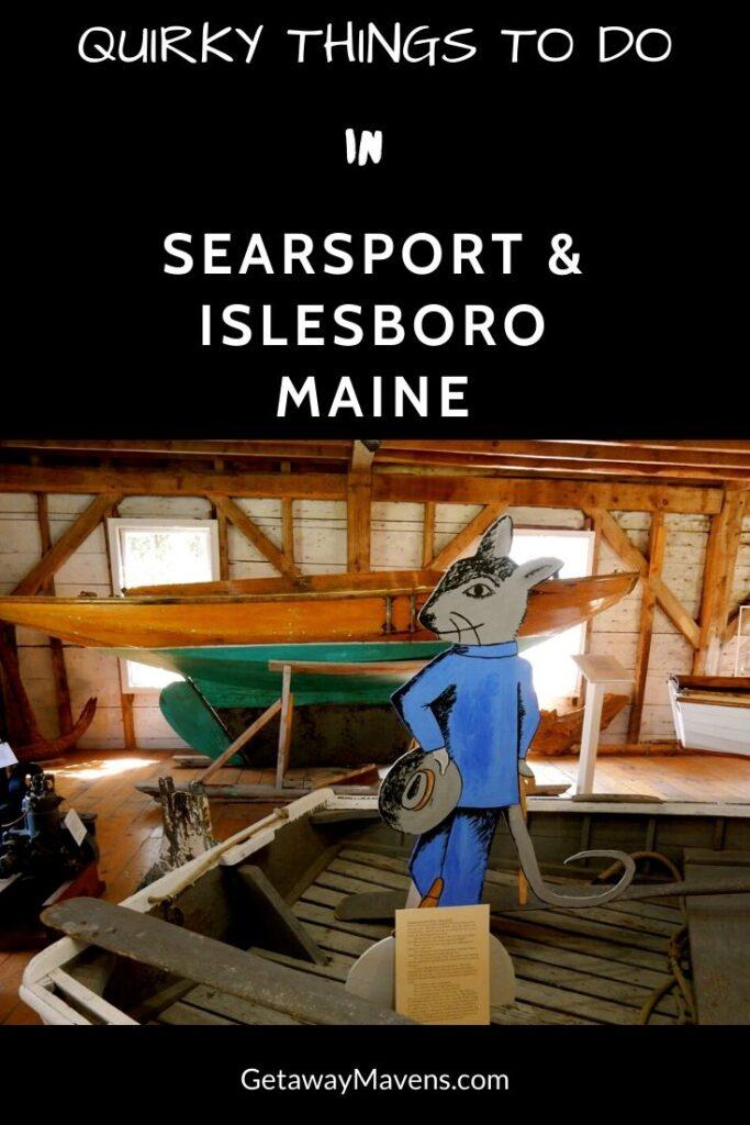 Searsport Islesboro ME Pin