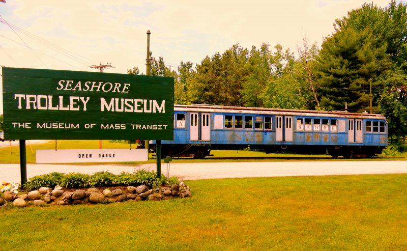 Seashore Trolley Museum, Kennebunk ME