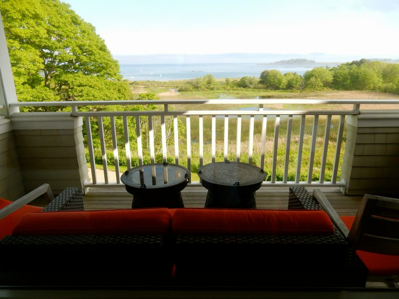 Seaside Suite Balcony View, Inn By the Sea, Cape Elizabeth ME