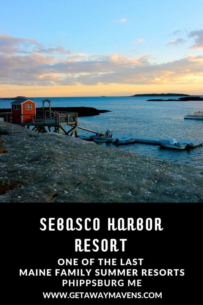 Sebasco Harbor Resort ME Pin