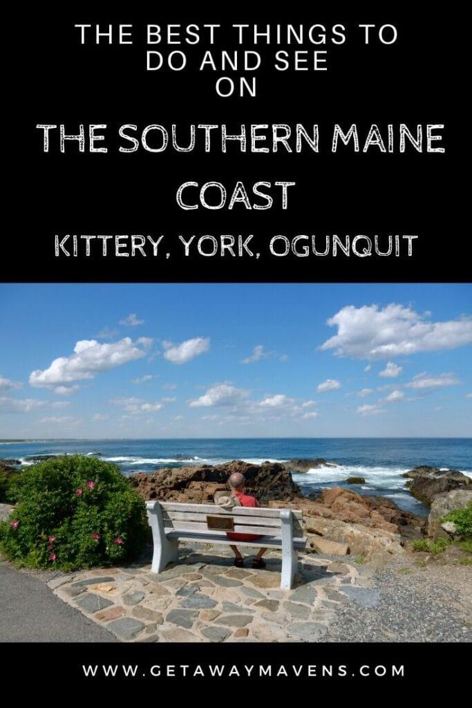 Southern Maine Coast Pin