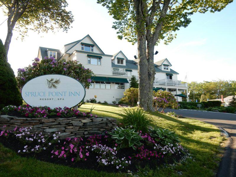 Spruce Point Inn exterior