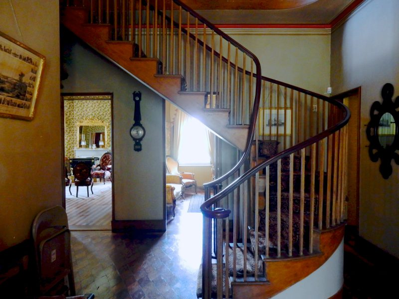 Staircase, Castle Tucker, Wiscasset ME