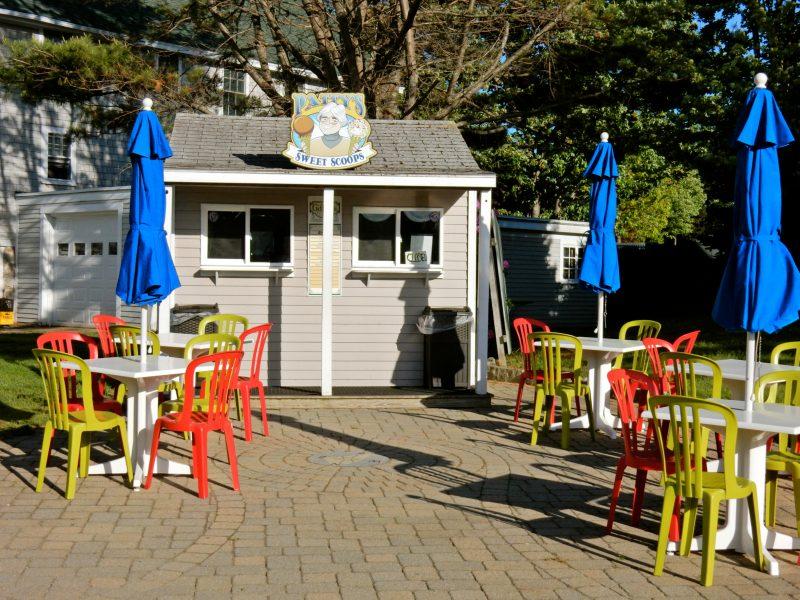 Sweet Scoops Ice Cream, Sebasco Harbor Resort, ME