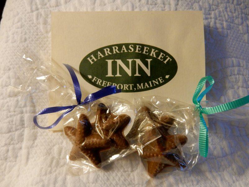 Turndown Chocolates, Harraseeket Inn