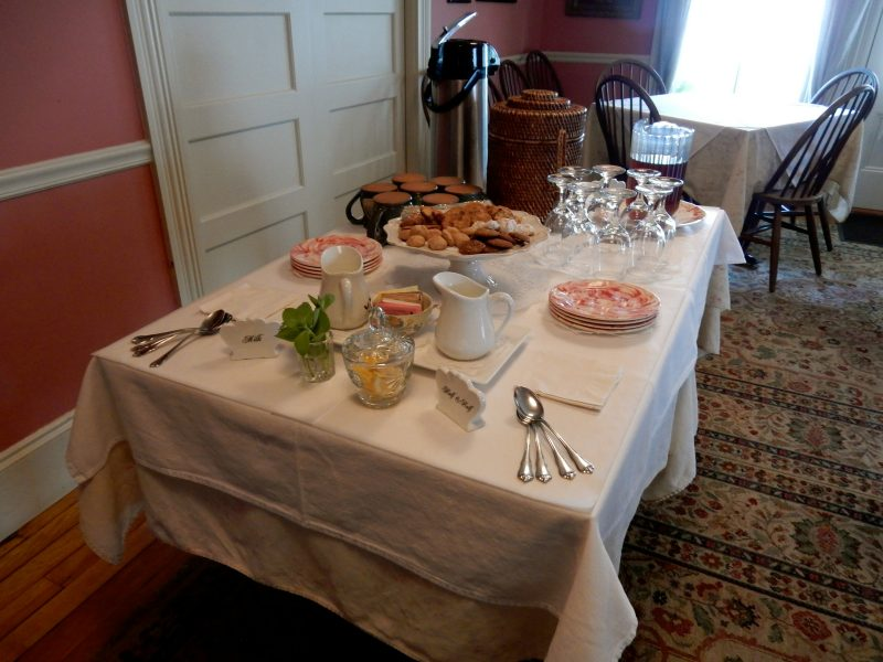 Welcome Treats, Pentagoet Inn, Castine ME