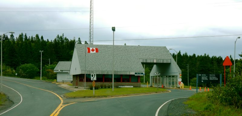 Canada Border Crossing, Lubec to Campobello Island