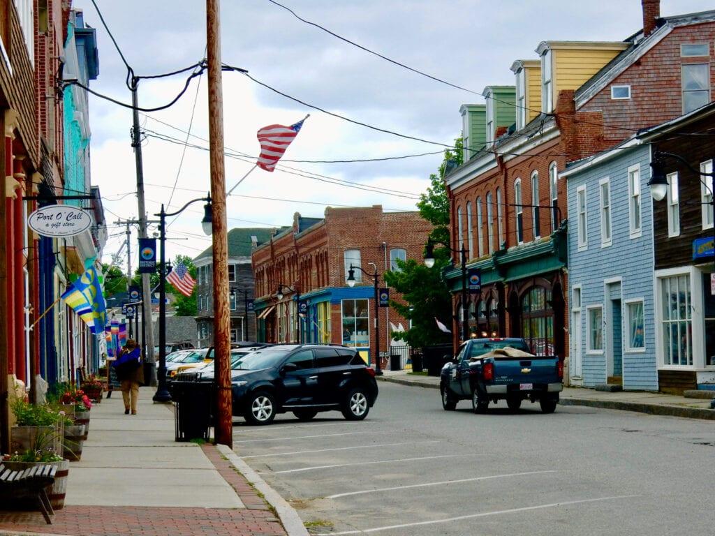 Downtown Eastport ME