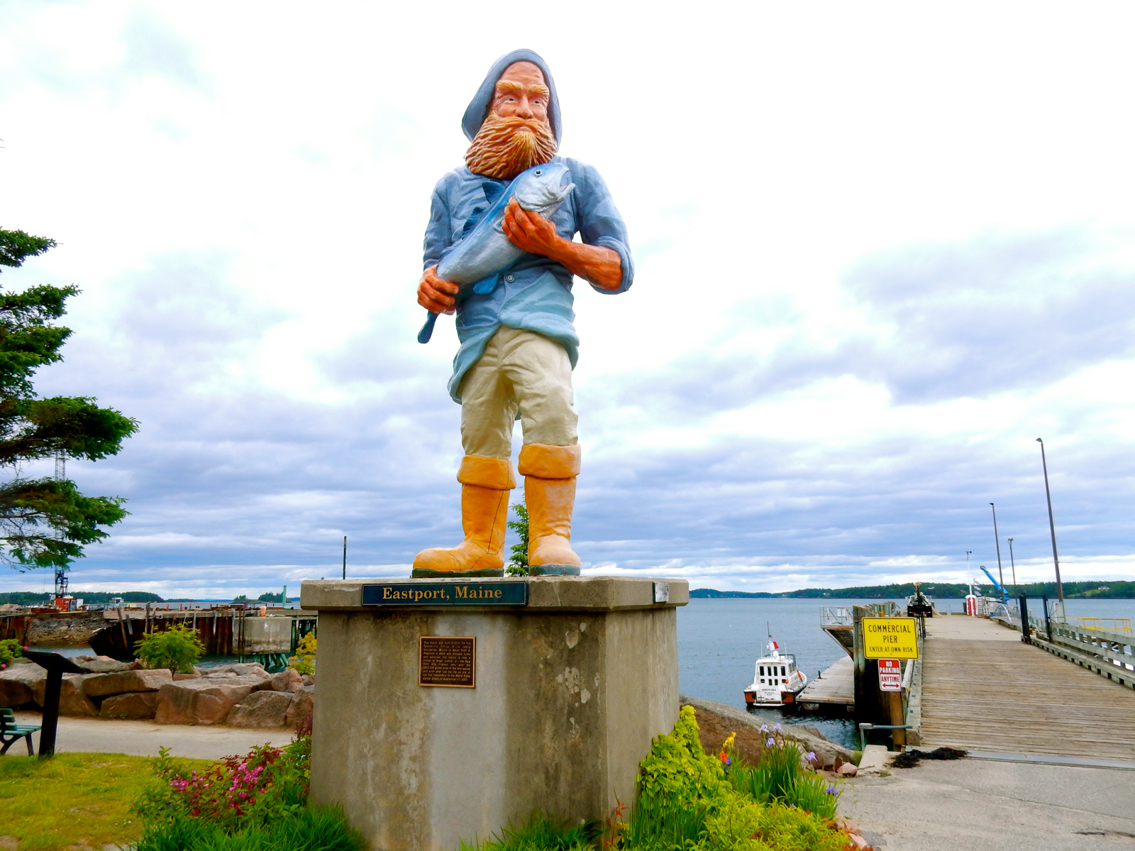 Lubec and eastport me campobello island canada extreme east usa fisherman eastport me geenschuldenfo Image collections