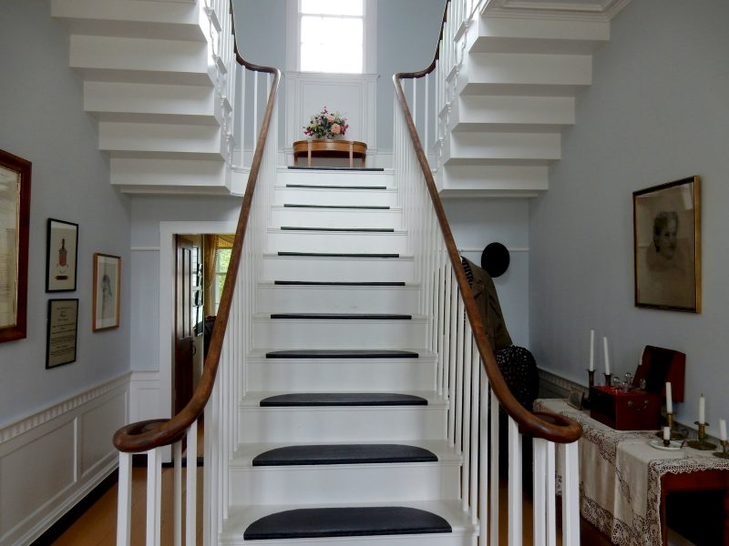 Flying Staircase, Ruggles House, Columbia Falls ME
