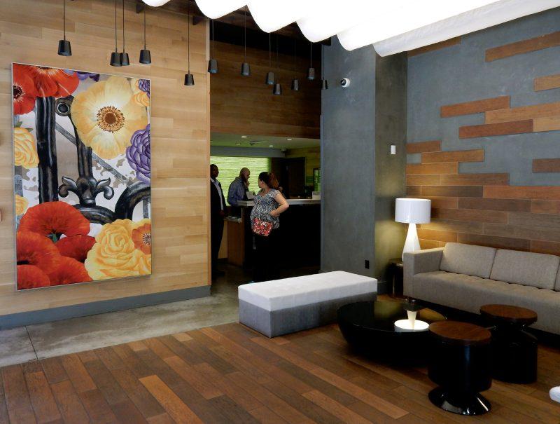 Lobby, Cambria Hotel Chelsea, NYC