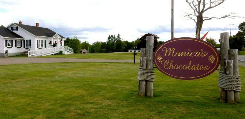 Monica's Chocolates, Lubec ME