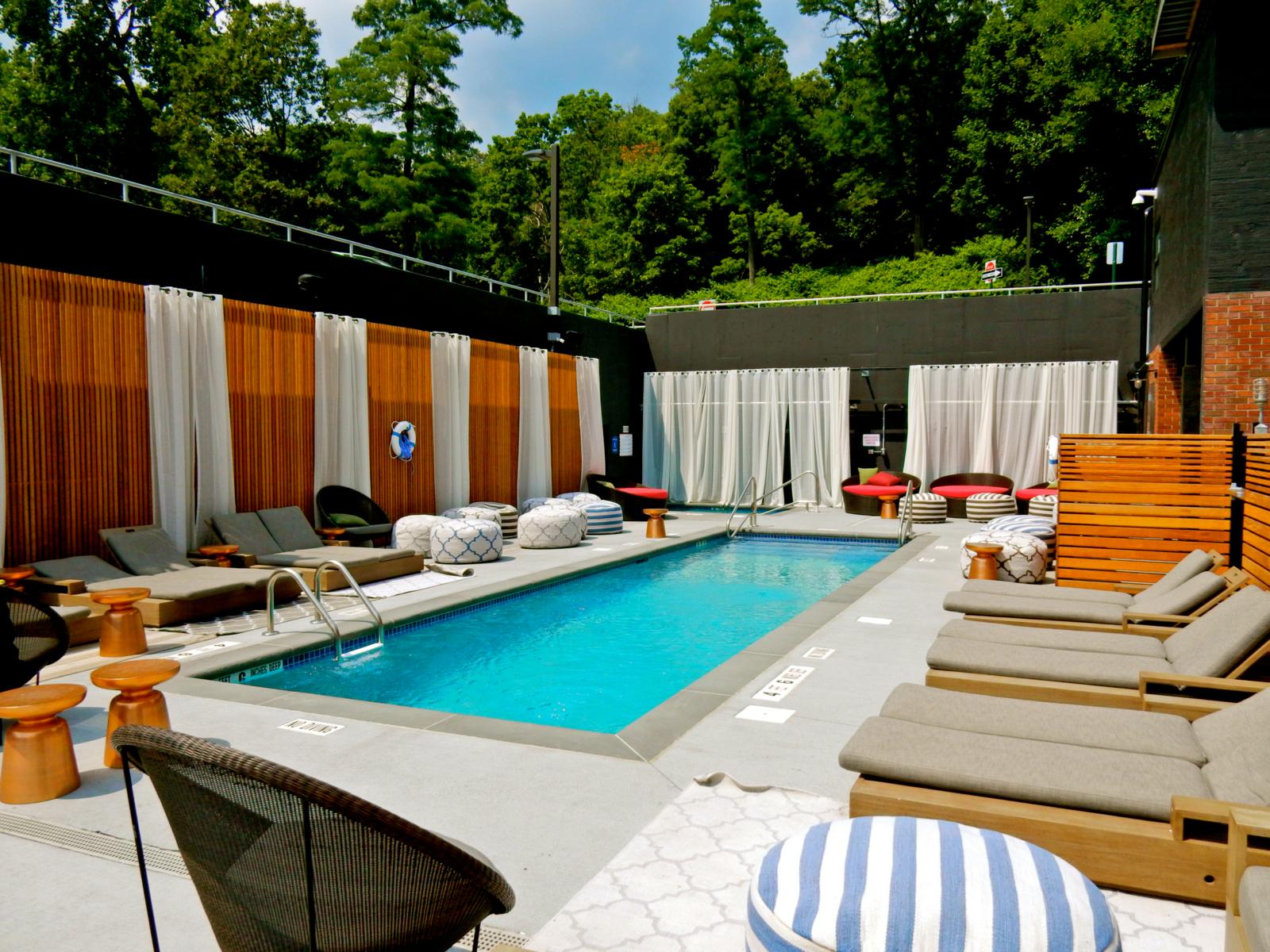 Outdoor Pool Time Hotel Nyack Ny