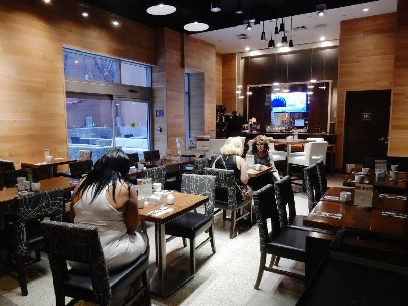 Restaurant, Cambria Chelsea Hotel, NYC