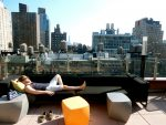 Roofdeck, Cambria Chelsea Hotel, NYC