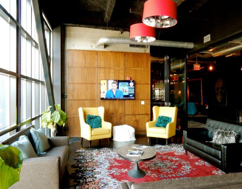 Time Hotel Lobby seating, Nyack NY