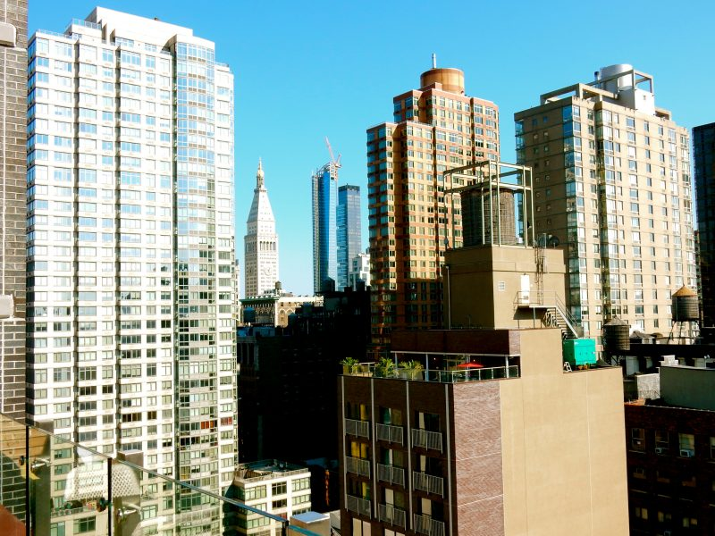 View from Roof, Cambria Chelsea Hotel, NYC