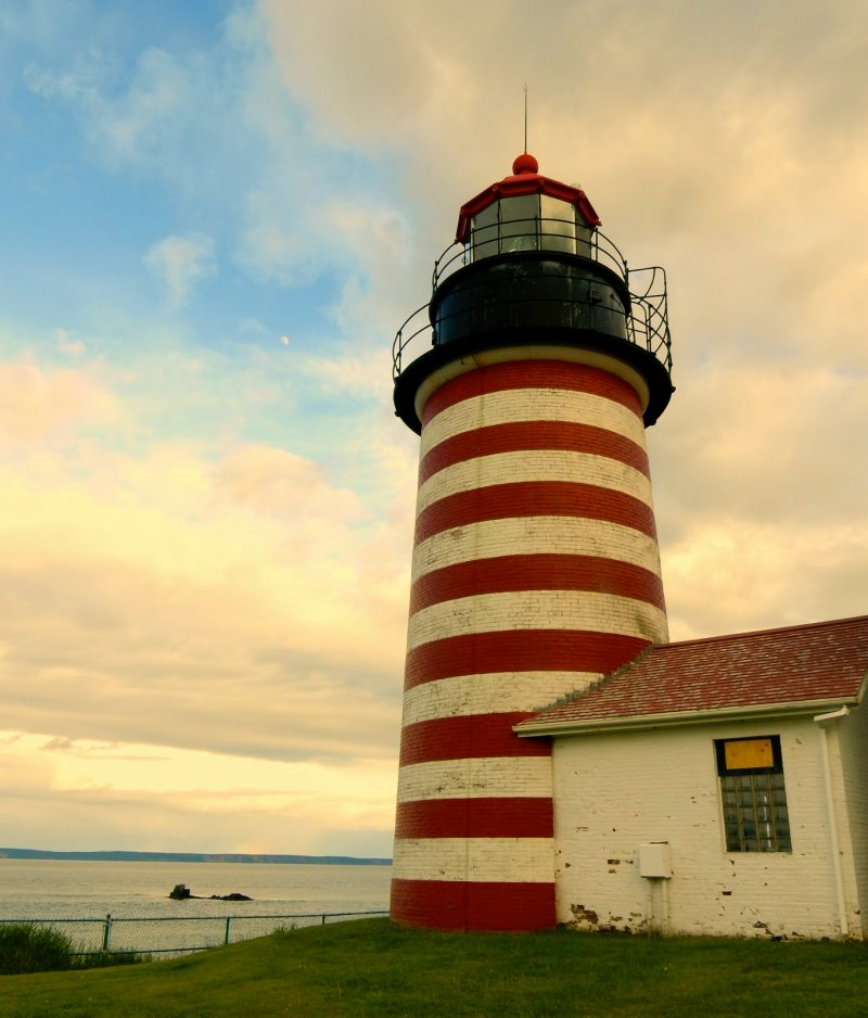West Quoddy Heat Lighthouse, Lubec ME