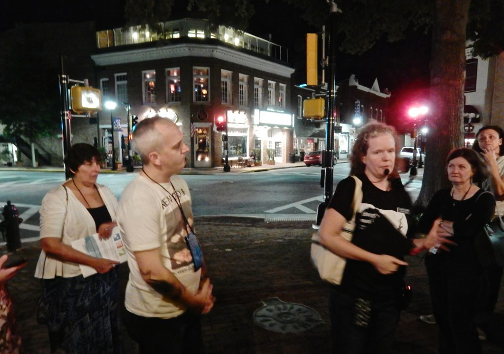 Ghost walk tour at Avalon Theater in Easton MD