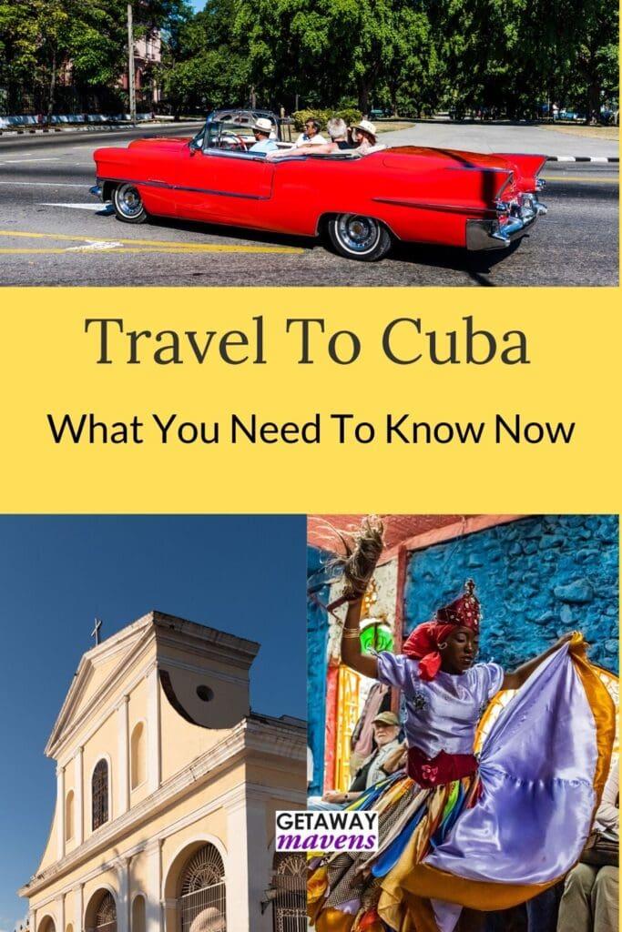 Travel to Cuba Pin