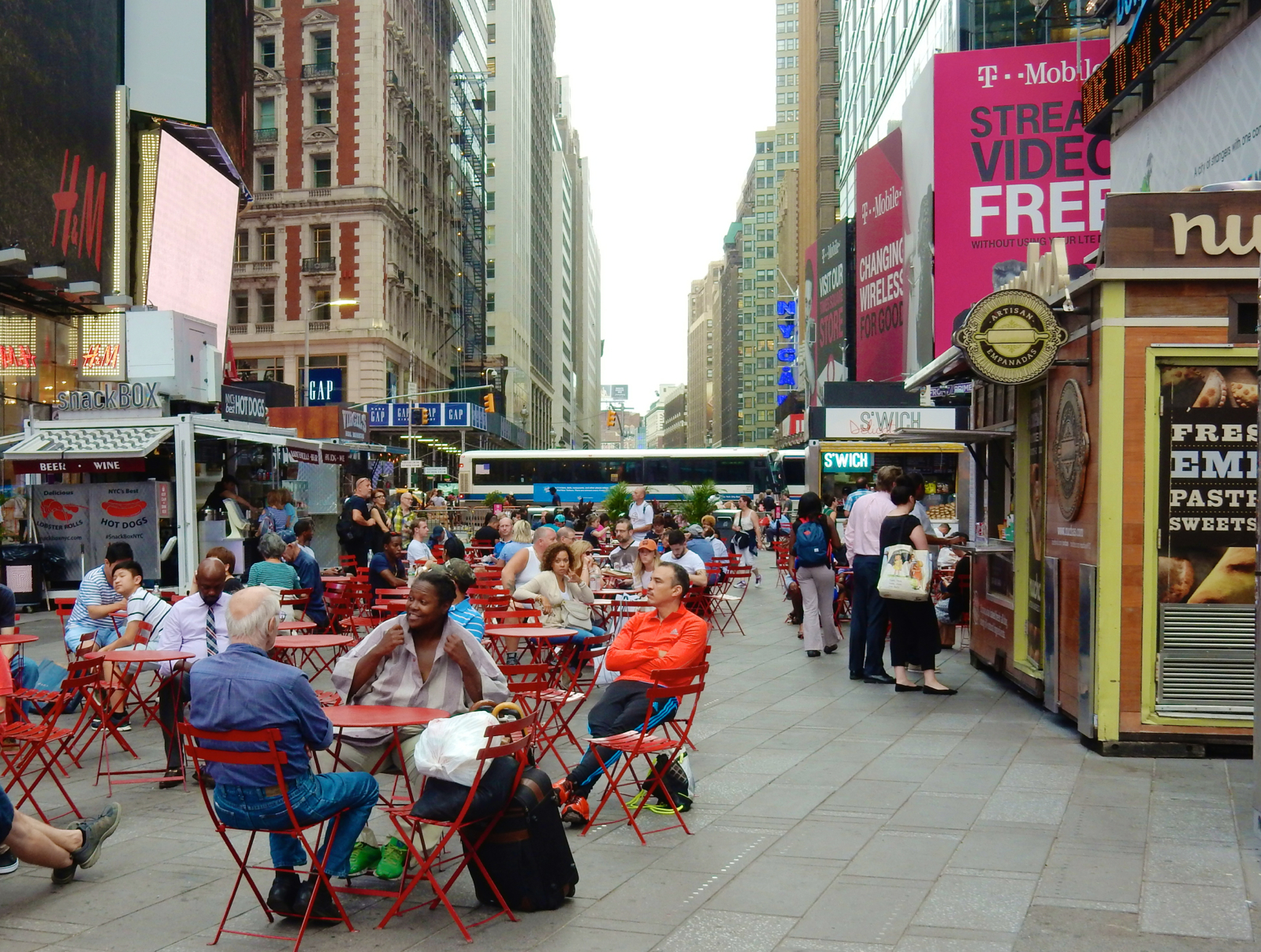 Times Square Food Trucks
